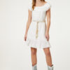 Short broderie anglaise dress FA0173T419111111