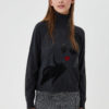 Turtleneck with inlay MF0084MA14GT9161