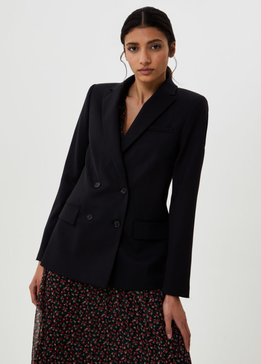 Double-breasted blazer WF0469T454922222